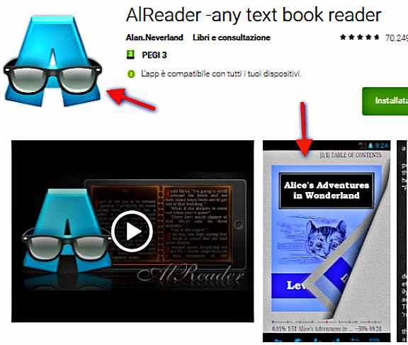 Четене на книги с Alreader