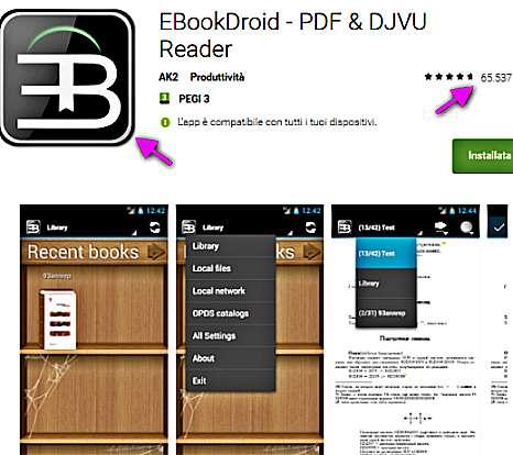 Ebook Droid чете книги на Андроид