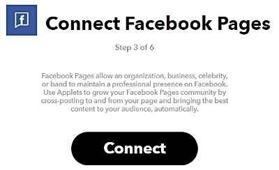 Свързване с Facebook