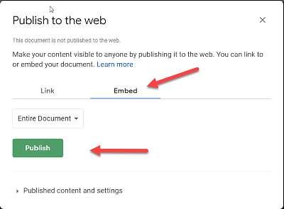Код за вграждане на документ във WordPress