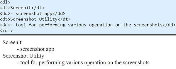 Списъци - код и резултат 3