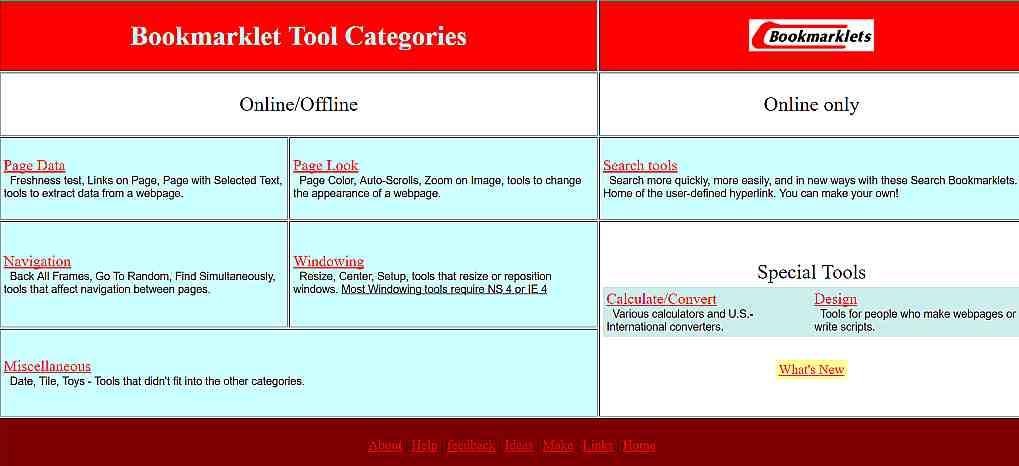 Bookmarklet - видове, примери на известни букмарклети 2- Ivytechnoweb.net