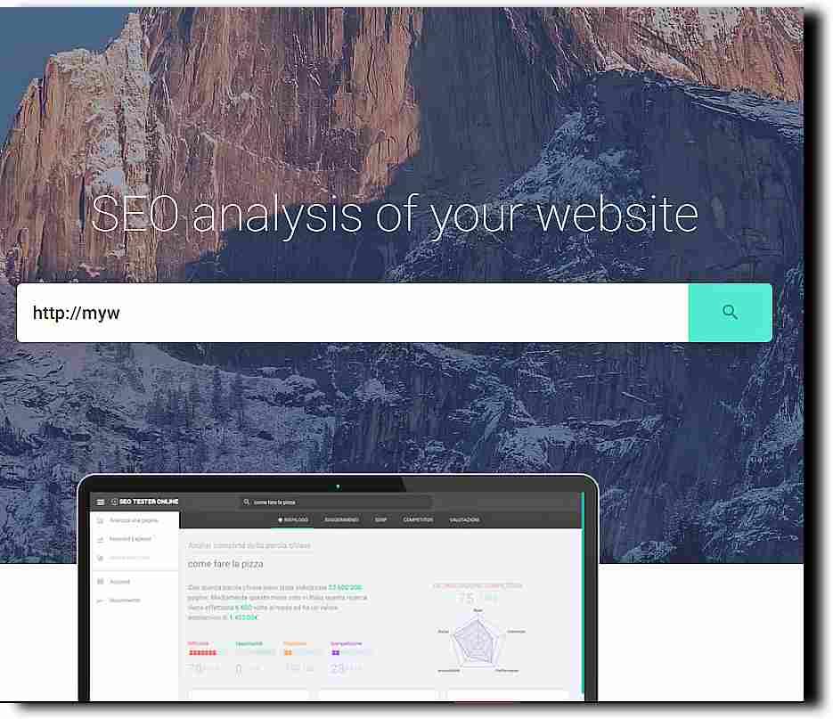 SEO инструмент за безплатен анализ на сайтове - SEO Tester Online 2