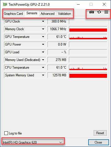 GPU-Z - информация за графичната карта 1