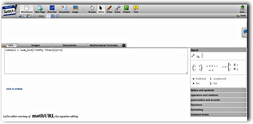 Безплатна интерактивна бяла дъска за множество потребители - 6 сайта Whiteboarding 5