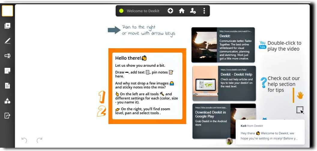 Безплатна интерактивна бяла дъска за множество потребители - 6 сайта Whiteboarding 6