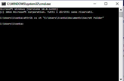 Как да скрием папки и файлове в Windows без инсталиране на друг софтуер 2
