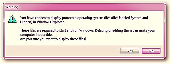 Как да скрием папки и файлове в Windows 1