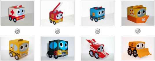 Как да направим играчки от хартия - най-добрите сайтове с модели за сваляне 11