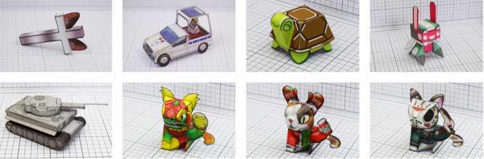 Как да направим играчки от хартия - най-добрите сайтове с модели за сваляне 26