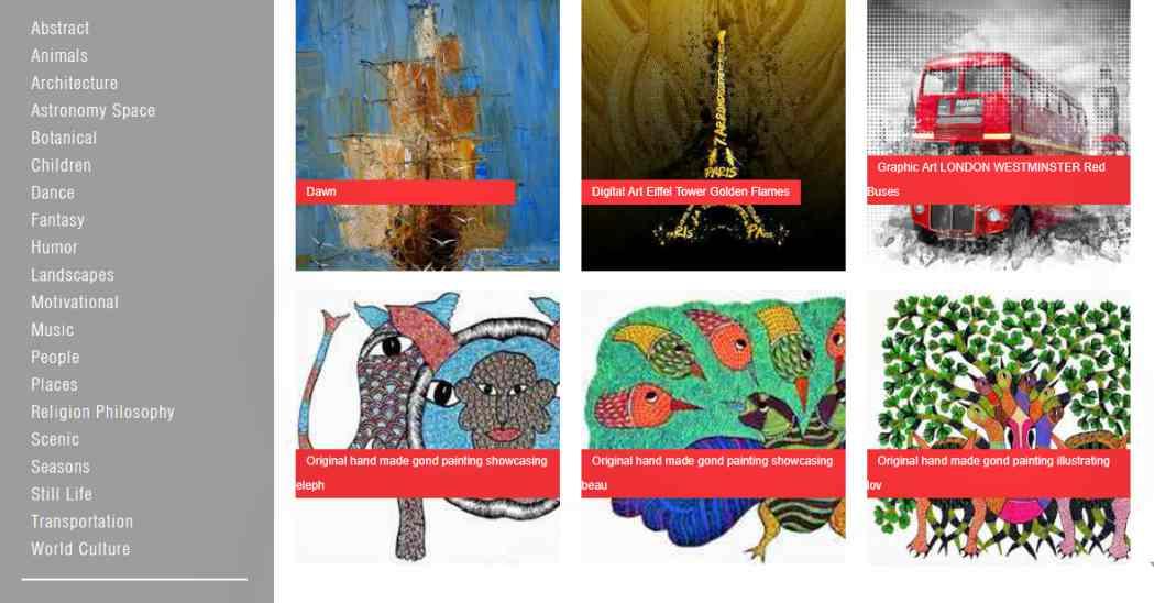Сайтове, където артистите могат да продават произведенията си онлайн 6