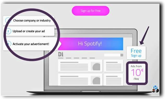 Таргет реклама към компании, след проследяване на посещенията им в сайта ти 3