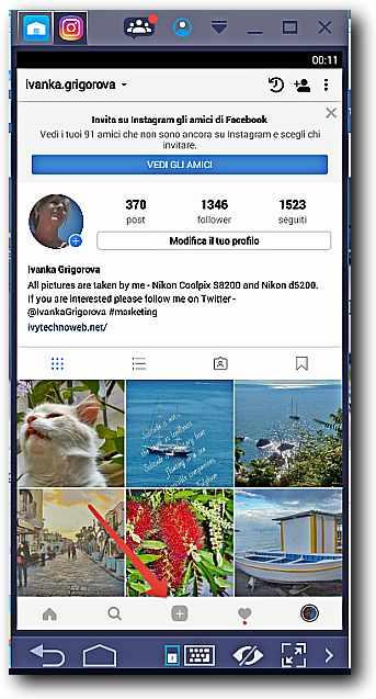 Как да качим снимки на Instagram от компютъра 11