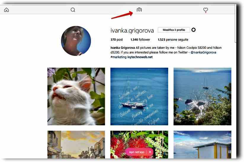 Как да качим снимки на Instagram от компютъра 5