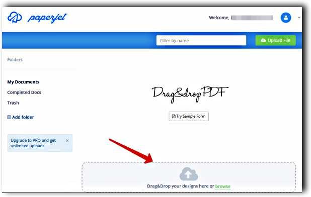 Попълваме и подписваме онлайн всеки PDF формуляр с Paperjet, без да го разпечатваме 2