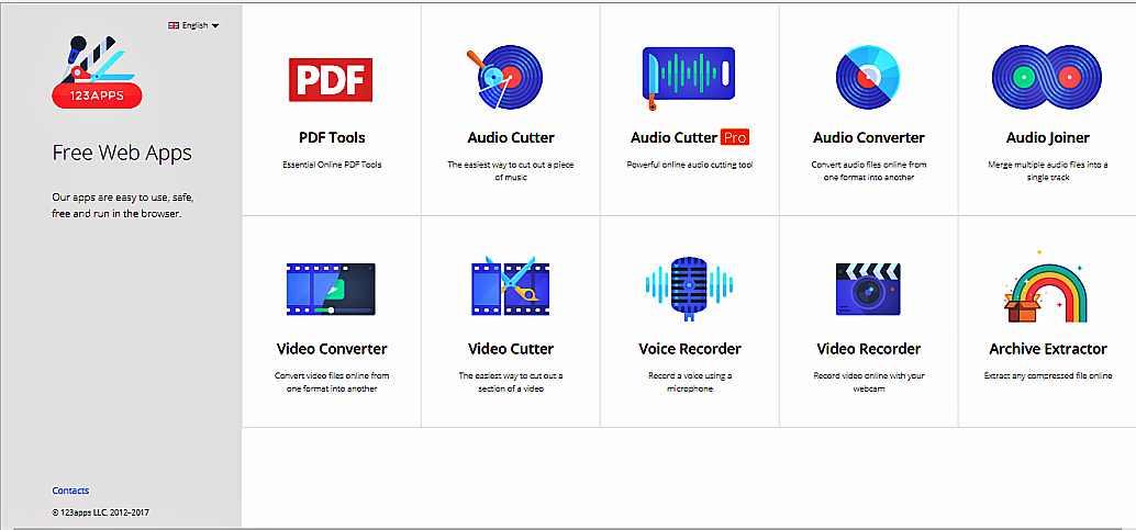 Редактираме и конвертираме аудио, видео и pdf файлове с 123apps 1