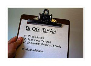 Блогът - видове публикации, които предизвикват интерес