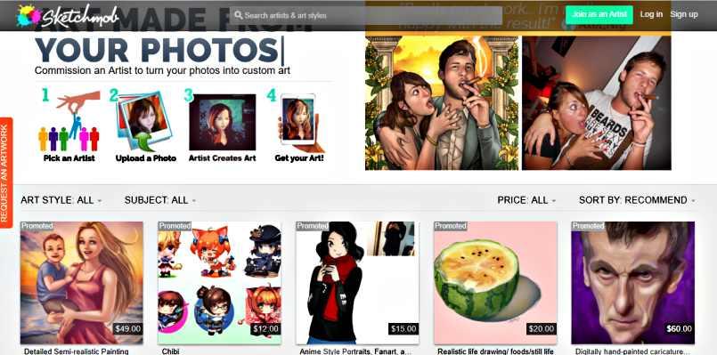 Маркетинг на пазара на изкуство - за художници и други артисти Sketchmob 3