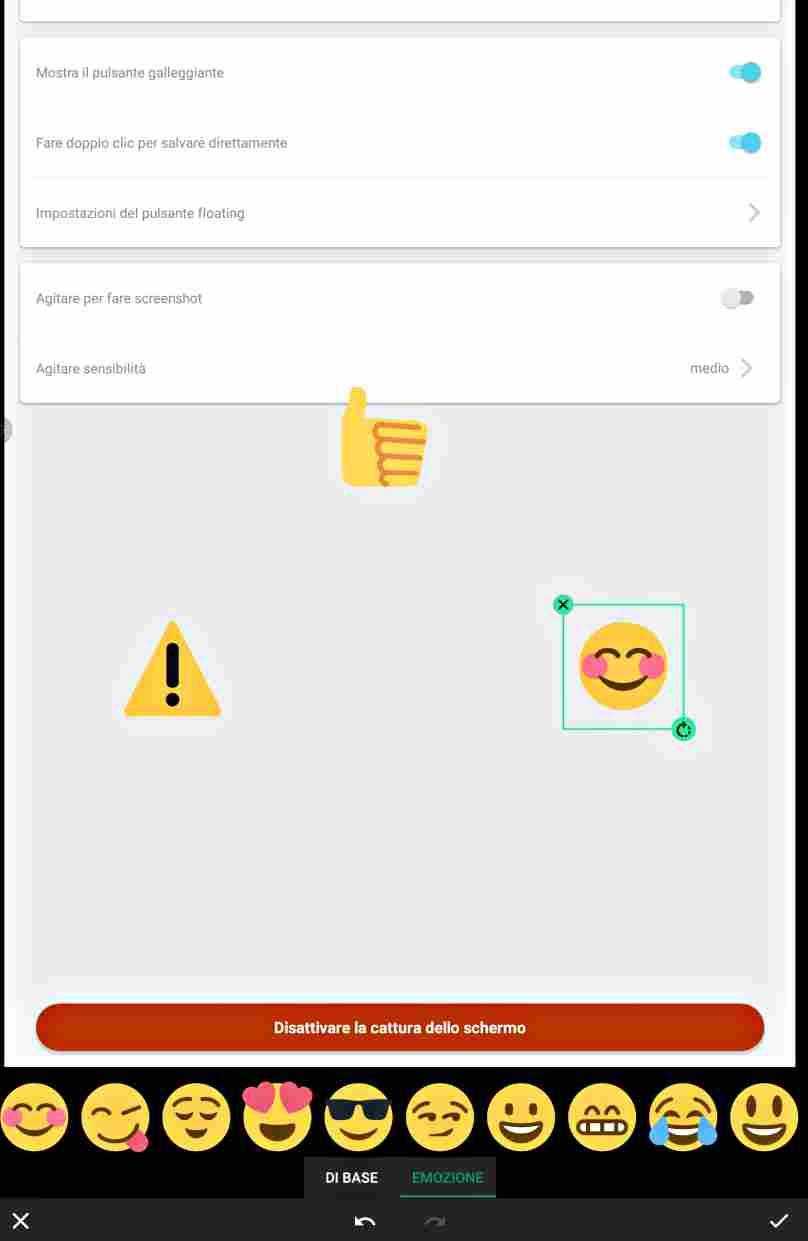 Най-добри апликации за скрийншот на екрана с Android и на цяла уеб страница-2ра част screen master 10