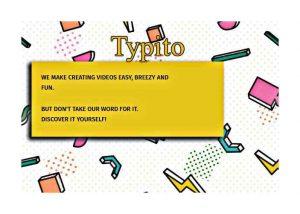 Създаване на видео в анимирана графика с Typito