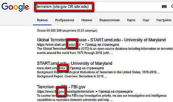 Оператори на Google за разширено търсене - как да ги използваме 17