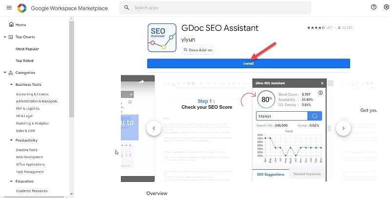 GDoc SEO Assistant 1