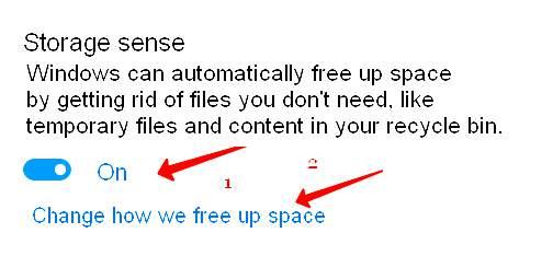 Как да чистим Windows 10 автоматично от ненужни и неизползвани файлове 4