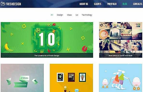 Красиви нови портфолио сайтове 11