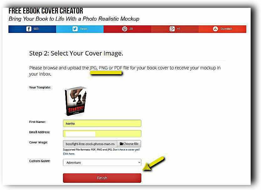 Създаване на 3D корица на книга с Ebook Cover Creator 10