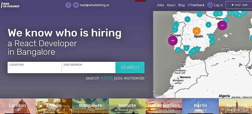 Сайтове (jobs boards) за работа за дизайнери, фрийлансъри 5