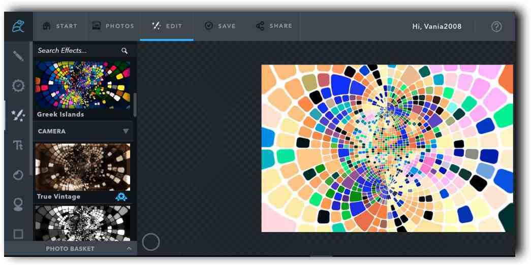 Фото редактор и колажи онлайн с Ribbet 2