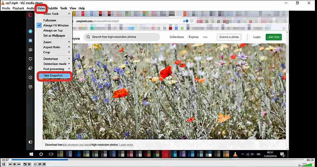Как да запишем екрана с VLC Media Player 9
