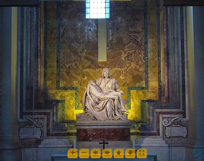 Пиета, Микеланджело, посещение онлайн