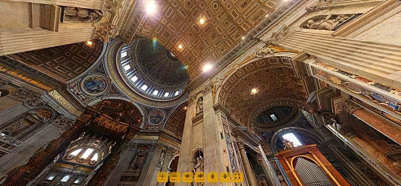Ватиканът онлайн посещение