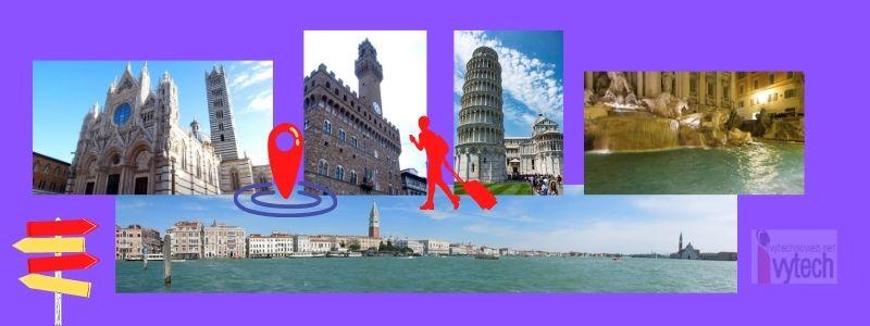 Виртуална разходка 3D из Ватикана, Рим, Венеция