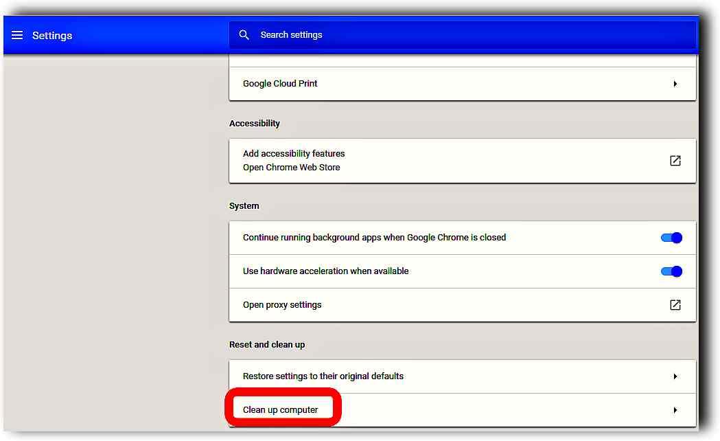 Използваме Chrome като антивирус и за премахване на зловреден софтуер 3