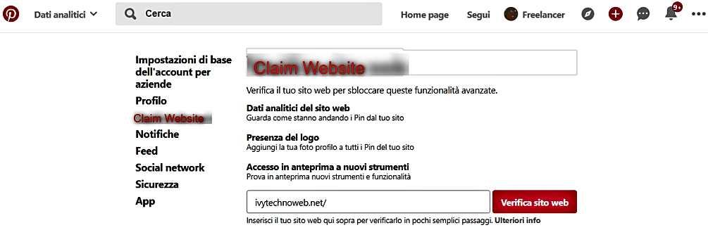 Как да потвърдим сайта си на Pinterest и да използваме безплатен бизнес профил 6