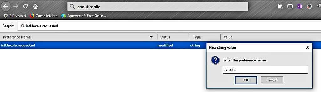 Как да сменим езиковия интерфейс на Mozilla Firefox на PC 11