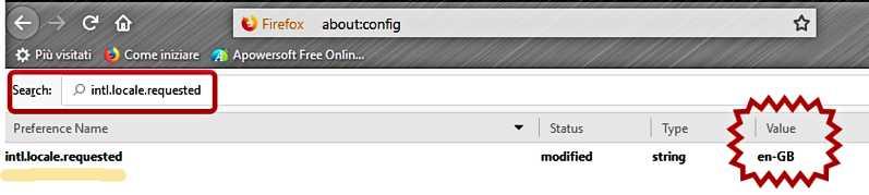 Как да сменим езиковия интерфейс на Mozilla Firefox на PC 6