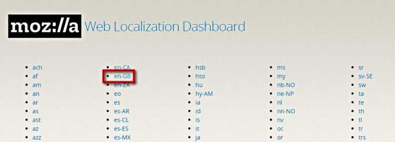 Как да сменим езиковия интерфейс на Mozilla Firefox на PC 8