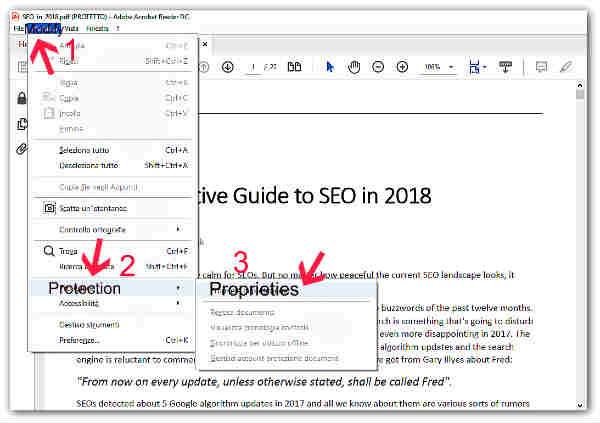 Как да отключим PDF файл-2
