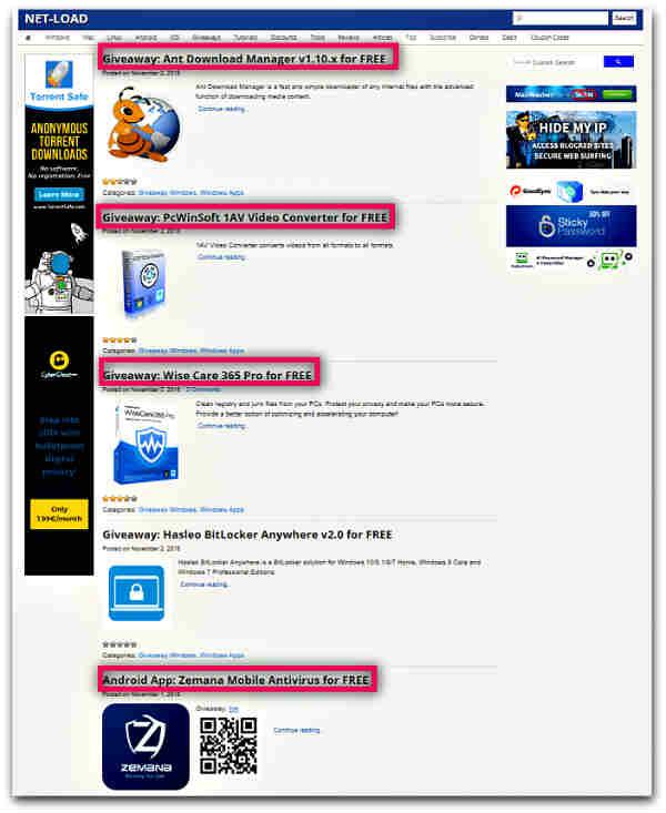 Сайтове за легално изтегляне на платен софтуер безплатно-10
