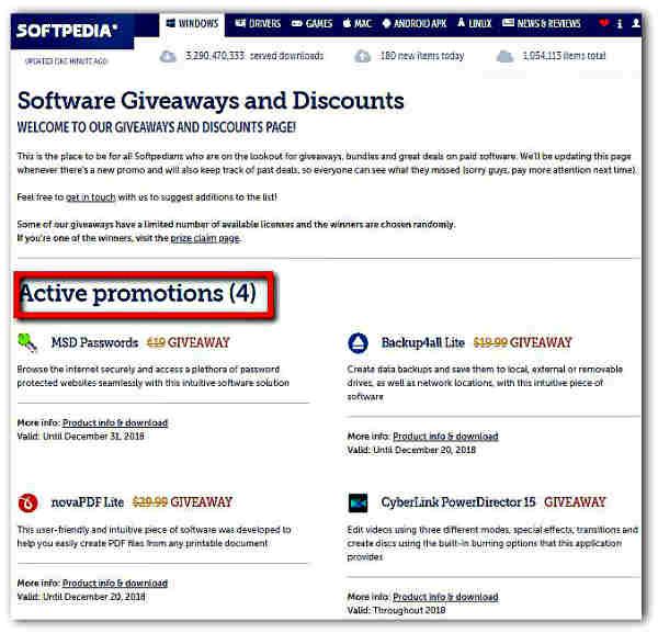 Сайтове за легално изтегляне на платен софтуер безплатно-12