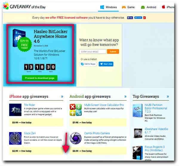 Сайтове за легално изтегляне на платен софтуер безплатно-2
