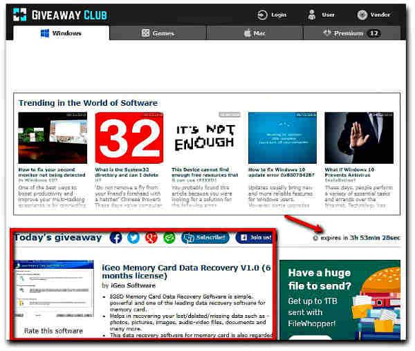 Сайтове за легално изтегляне на платен софтуер безплатно-3