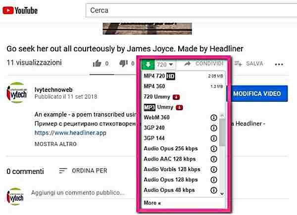 Как да изтегля видео или аудио от Youtube-5