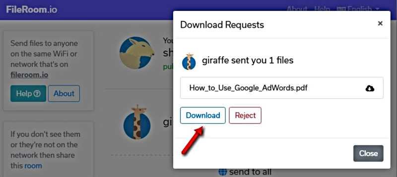 Как да прехвърлим файл между устройства в същата WiFi мрежа-4
