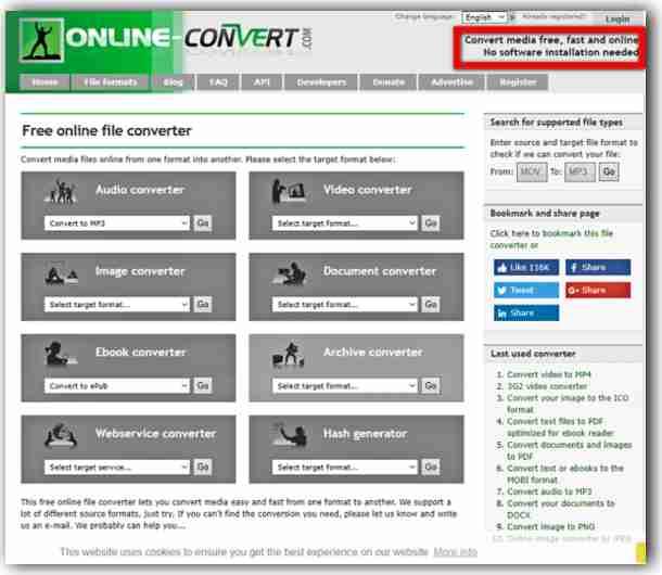 Онлайн услуги за конвертиране на видео-1