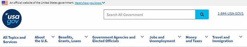 USA.gov - търсачки за невидимата мрежа