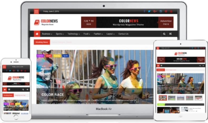 ColorNews WordPress Theme